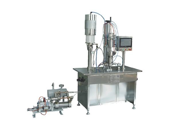 QGBGS-1000型PLC控制盖下灌装机