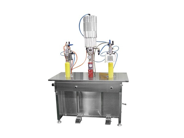 QGB1000型焊接气体气雾剂灌装机