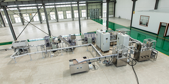 宁波水星二元包装全自动灌装机案例