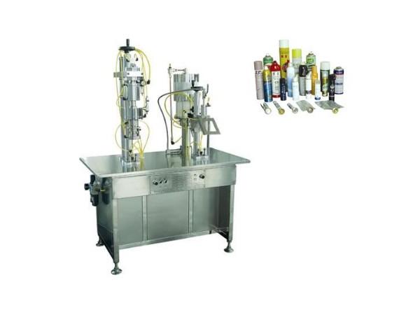 QGB2Y型二元包装气雾剂灌装机