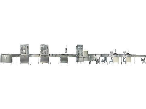 全自动二元气雾剂灌装机生产线
