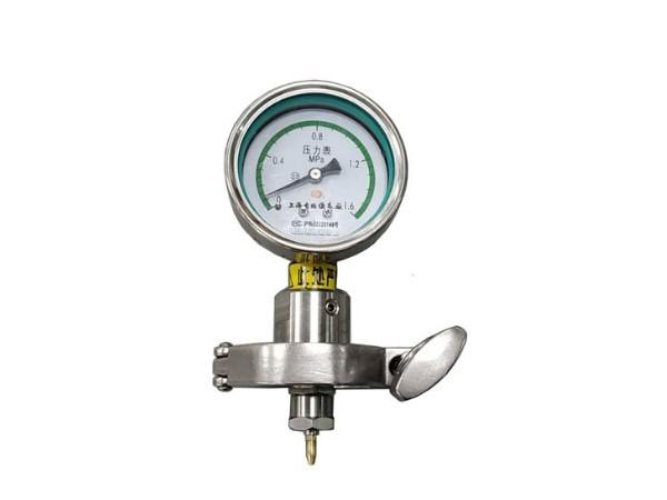 气雾罐内压测量表